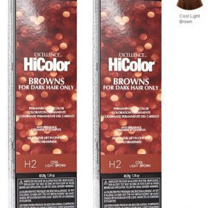 L'Oreal Excellence HiColor Browns for Dark Hair Only H1