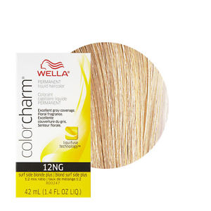 Wella Color Charm Liquid Creme Hair Color 12NG Surf Side Blonde