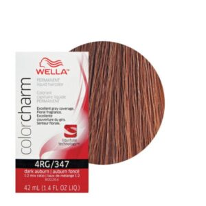 Dark Auburn 347 Wella Colour Charm Liquid Creme Hair Colour