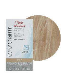 Medium Beige Blonde 27 Wella Hair Colour Charm