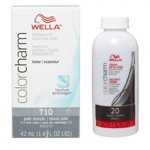 Wella Colour Charm Permanent Liquid Hair Toner Pale Blonde