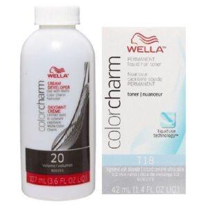 Wella Colour Charm Permanent Liquid Hair Toner Lightest Ash Blonde - Shop Colourwarehouse