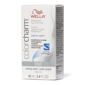 Cooling Violet O50 Wella Color Charm Permanent Liquid Haircolor