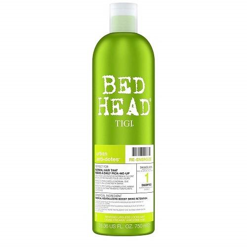 Bed Head by Tigi Urban Antidotes Re-Energise Daily Shampoo - shop colourwarehouse.com