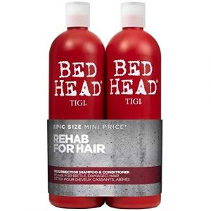 Bed Head by Tigi Urban Antidotes Resurrection Repair Shampoo and Conditioner 750 ml Pack of 2