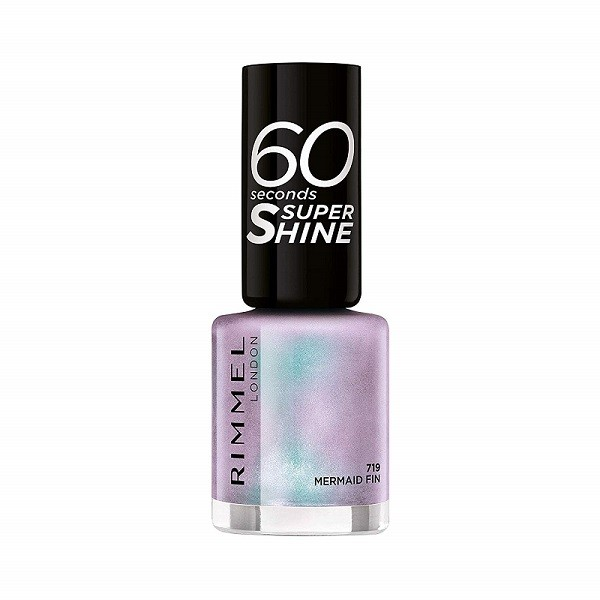 Rimmel 60 Seconds Super-Shine Nail Polish Mermaid Fin