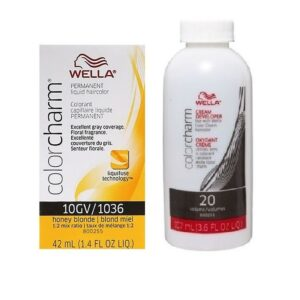 10GV Honey Blonde Wella Color Charm Liquid Haircolor