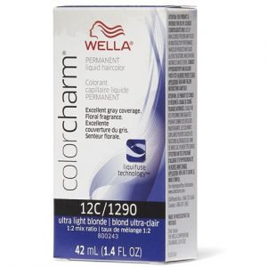Utra Light Blonde 12C/1290 - Wella Color Charm Permanent Liquid Haircolor