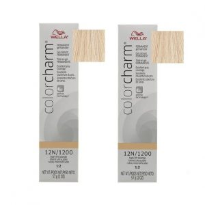 12N/1200 High Lift Blonde Wella Color Charm Permanent Gel Haircolor