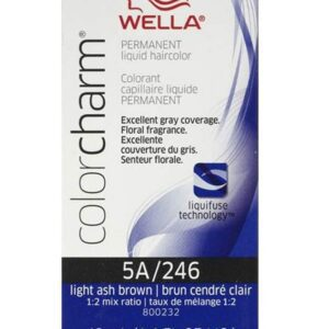 5A/246 Light Ash Blonde - Wella Color Charm Permanent Liquid Haircolor + Developer (Vol. 20)