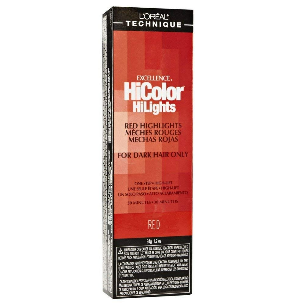 L'Oreal Excellence HiColor Red HighLights