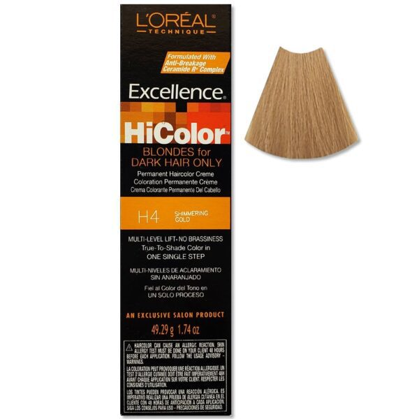 L'Oreal Excellence HiColor Shimmering Gold