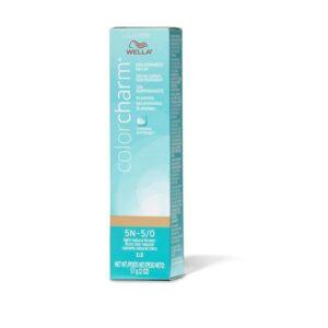 5N – 5/0 Light Natural Brown Wella Color Charm Demi – Permanent Haircolor