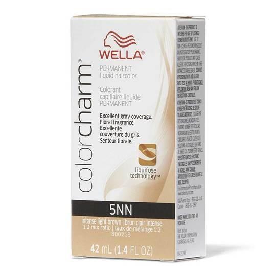 Intense Light Brown 5NN - Wella Color Charm Permanent Liquid Haircolor