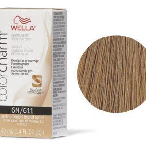 Wella Color Charm Permanent Liquid Haircolor Dark Blonde 6N