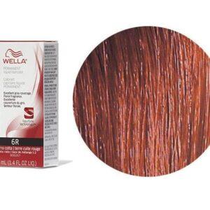 Wella Color Charm Permanent Liquid Haircolor Red Terra Cotta 6R