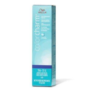 7A – 7/1 Medium Ash Blonde Wella Color Charm Demi – Permanent Haircolor
