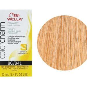 Light Golden Blonde 8G Wella Color Charm Haircolor