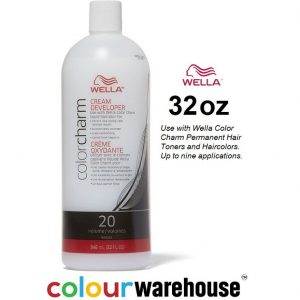Wella Color Charm Cream Developer 20 Volume 32oz