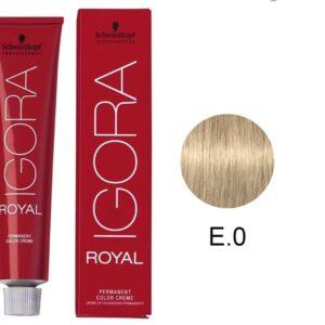 Lightening E-0 Schwarzkopf Royal Igora Permanent Color