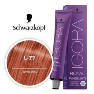 Copper L 77 Schwarzkopf Royal Igora Permanent Color