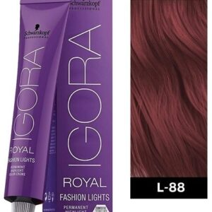 Red L 88 Schwarzkopf Royal Igora Permanent Color