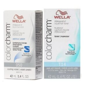Wella Color Charm Permanent Hair Liquid Toners COMBO SET