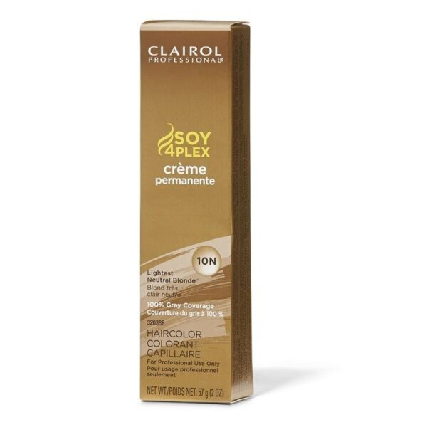 Lightest Neutral Blonde 10N Clairol Permanent Hair Colour GRAY BUSTERS