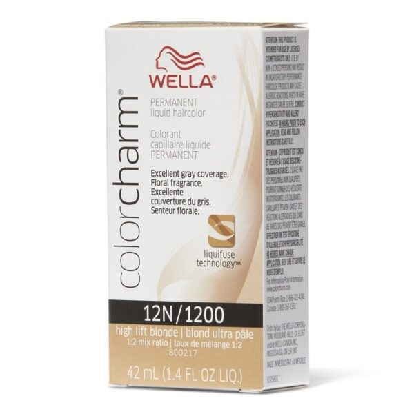 High Lift Blonde 12N - Wella Color Charm Permanent Liquid Haircolor