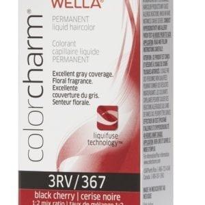 Black Cherry 3RV Wella Color Charm Permanent Haircolor