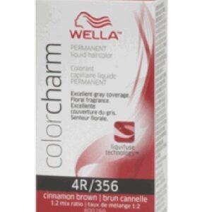 Cinnamon Brown 4R Wella Color Charm Permanent Haircolor