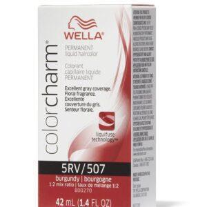 Burgundy 5RV Wella Color Charm Permanent Haircolor