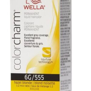 Hazel Blonde 6G Wella Color Charm Permanent Haircolor