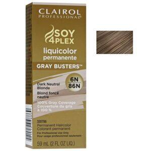 Dark Neutral Blonde 6N Clairol Permanent Hair Colour GRAY BUSTERS