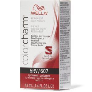 Cyclamen 6RV Wella Color Charm Permanent Haircolor