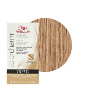 Medium Blonde 7N - Wella Color Charm Permanent Liquid Haircolor