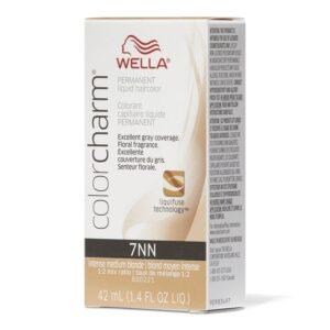 Intense Medium Blonde 7NN - Wella Color Charm Permanent Liquid Haircolor