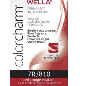 Red 7R Wella Color Charm Permanent Haircolor