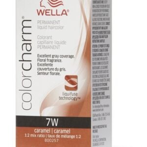 7W Caramel Wella Color Charm Permanent Haircolor