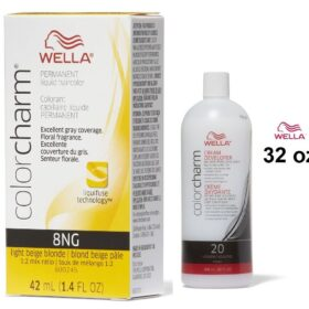 Light Beige Blonde 8NG Wella Color Charm Permanent Haircolor