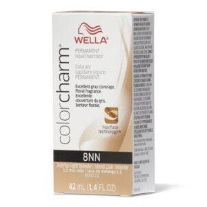 Intense Light Blonde 8NN - Wella Color Charm Permanent Liquid Haircolor