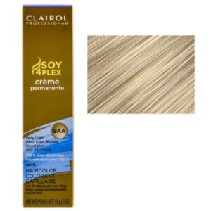 Very Light Ultra Cool Blonde 9AA Clairol Permanent Hair Colour GRAY BUSTERS