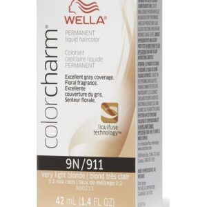 Very Light Blonde 9N - Wella Color Charm Permanent Liquid Haircolor