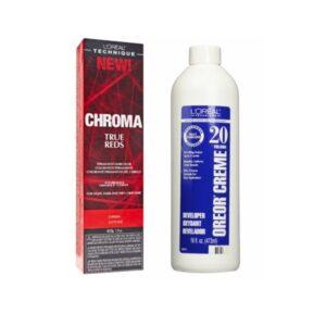 L'Oreal Chroma True Reds SANGRIA For Light Dark And 100% Gray Hair