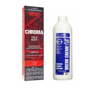 L'Oreal Chroma True Reds CHERRY For Light, Dark And 100% Gray Hair