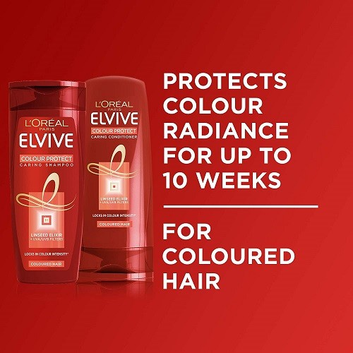 L'Oreal Elvive Colour Protect Conditioner for Coloured Hair 400ml Pack of 6 - Copy