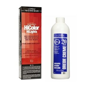 L'Oreal HiColor Red HiLights For Dark Hair Only