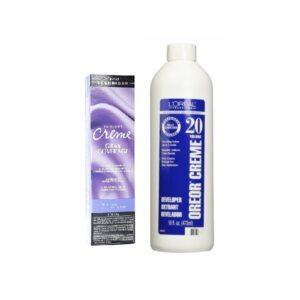 L'Oreal Excellence Creme Gray Coverage 7.1 Dark Ash Blonde Permanent Haircolor