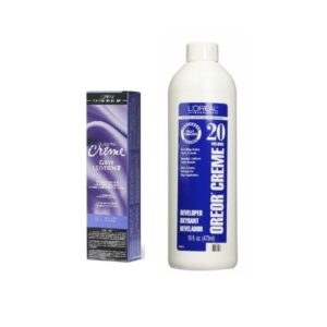 L'Oreal Excellence Creme Gray Coverage 9 ½ .1 Extra Light Ash Blonde Permanent Haircolor