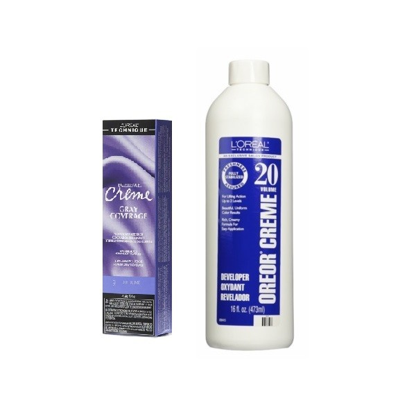 L'Oreal Excellence Creme Gray Coverage 9 Light Blonde Permanent Haircolor